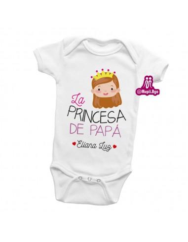 Mameluco La Princesa de Papá...