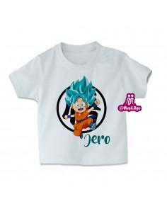 camiseta goku niño...
