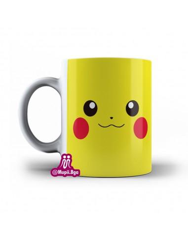 Mug Pokemon Pikachu personalizado