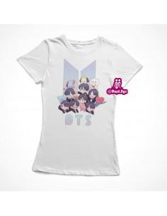 camisetas bts personalizada
