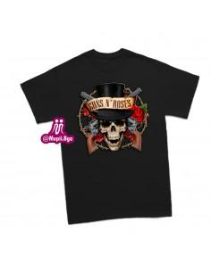camiseta guns and roses...