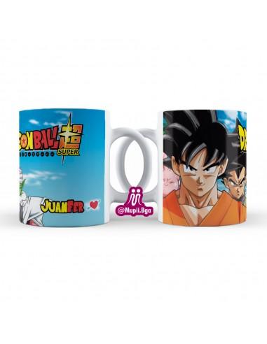 Mug Dragon Ball Z Goku Personalizado