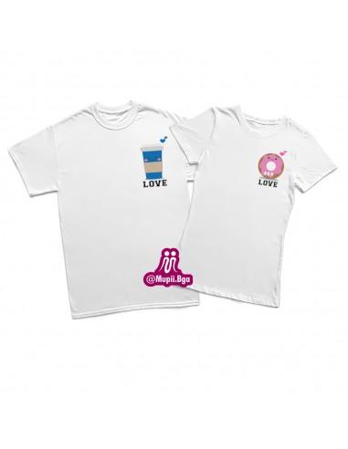Camisetas para pareja personalizadas...