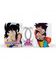 Mug para parejas Goku y...