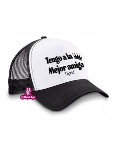 gorra para amigas...