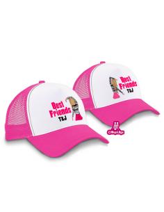 gorras amigas personalizadas